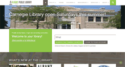Preview of library.cityofalbany.net