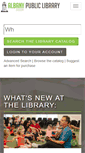Mobile Preview of library.cityofalbany.net
